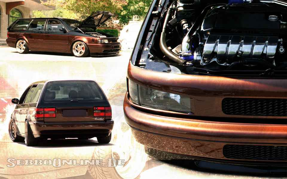 VW Passat 35i VR6 Turbo Wallpaper Vorschau