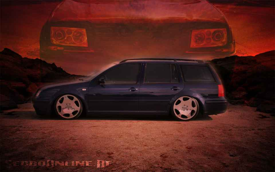 VW Bora Variant Tuning Wallpaper