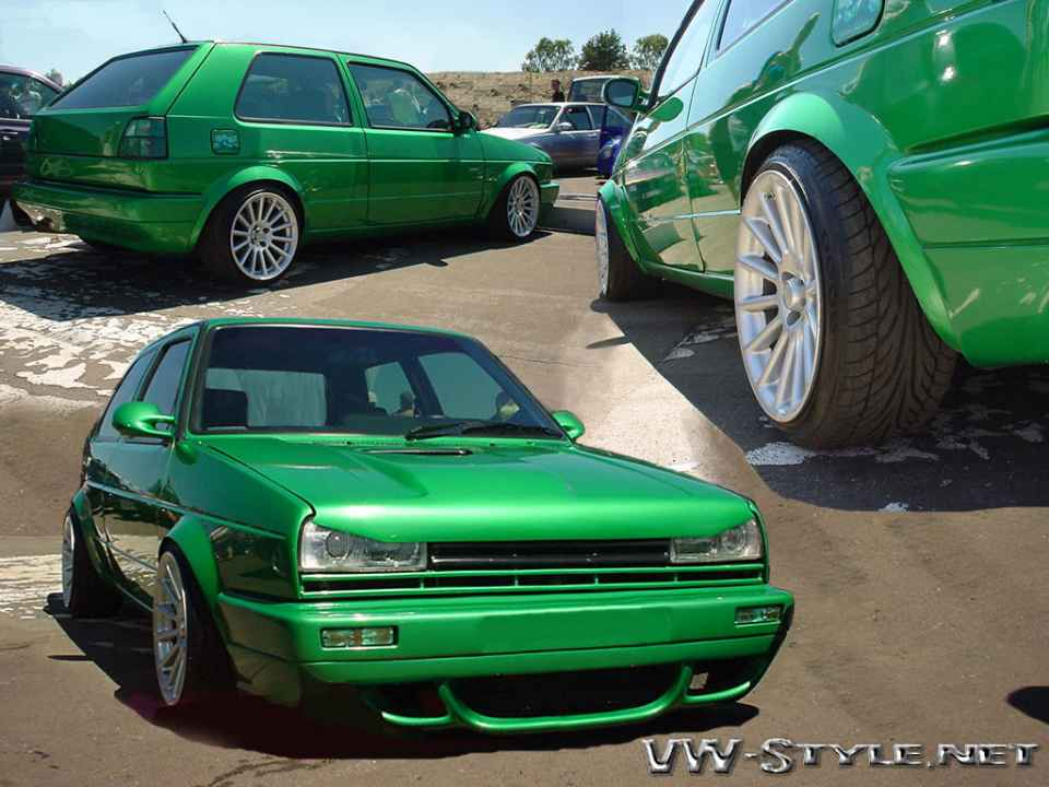 "Wallpaper ""CleanGreen Golf 2"""