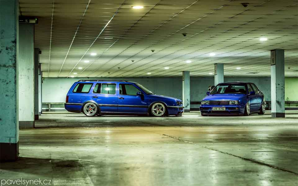 VW Vento Golf Variant Tuning Wallpaper