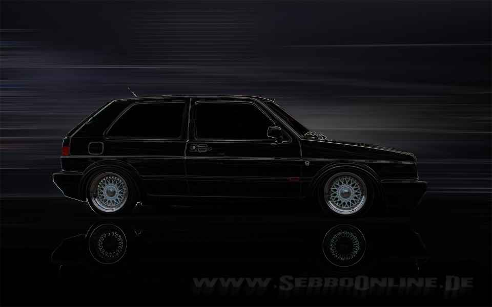 Golf 2 Tuning Wallpaper Vorschau