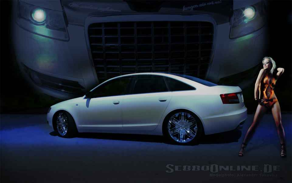 Audi A6 Tuning Wallpaper