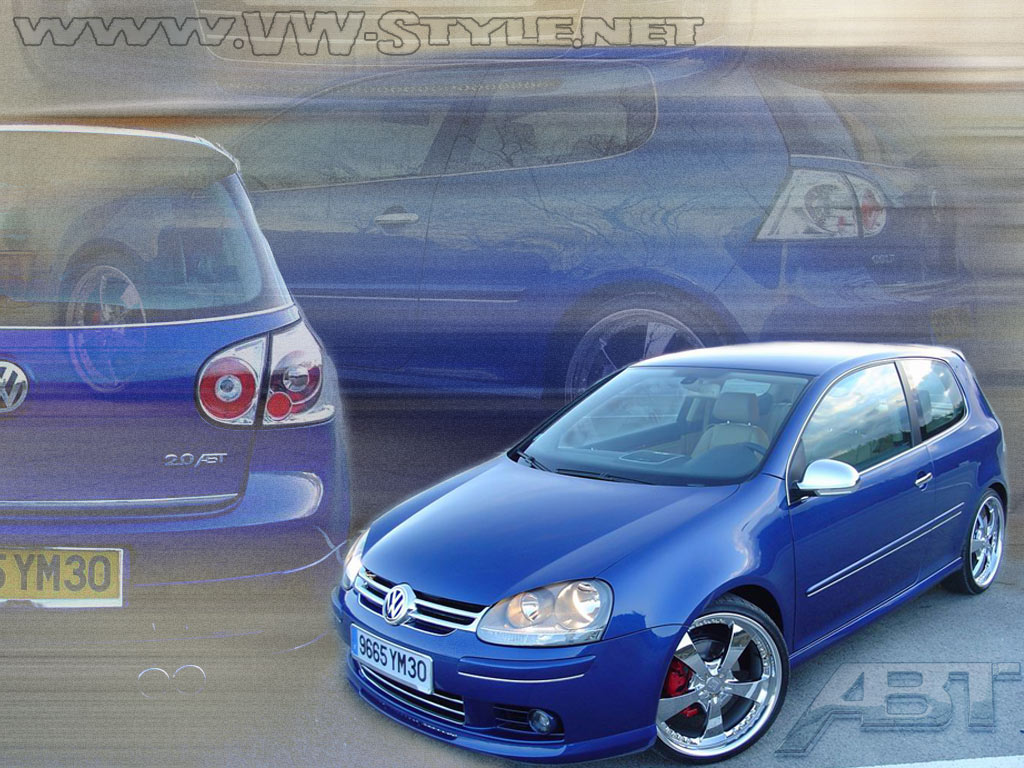 VW Golf 5 Abt Tuning Wallpaper