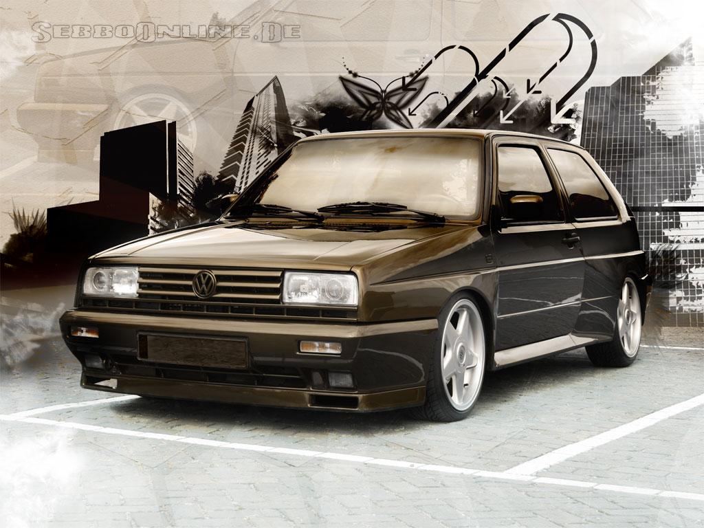 VW Golf 2 Rallye G60 Wallpaper